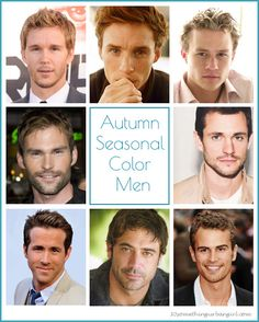 Autumn seasonal color men