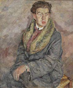 """Mela Muter""""Portret Dody Conrada, śpiewaka polskiego pochodzenia"""", ok. 1926"""
