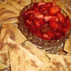 Annies Fruit Salsa and Cinnamon Chips Recipe - Allrecipes.com