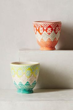 Etched Perennial Pot #Anthropologie #PinToWin