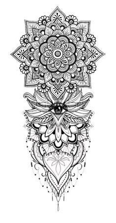 Die 1027 Besten Bilder Von Tattoo Mandala In 2020 Tatowierungen