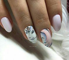 Unicorn Nail Art, Nails Design, Manicure, Beauty, Nails Inspiration, Nail Bar, Nails, Polish, Manicures
