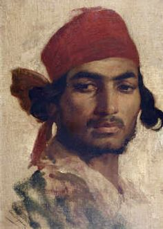 Henri Régnault - Portrait of gypsy  Art Experience NYC  www.artexperiencenyc.com/social_login/?utm_source=pinterest_medium=pins_content=pinterest_pins_campaign=pinterest_initial