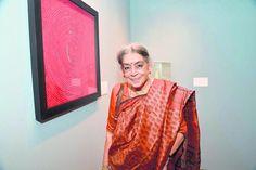 My work is optimistic now: Veteran artist Lalitha Lajmi