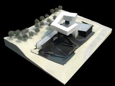 nanjing sifang art museum.  steven holl architects