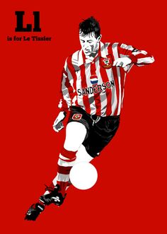 An illustrative A-Z of iconic footballers