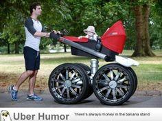 Stroller for dads