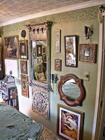 Bohemian Bedroom Decor, Pretty Room, Aesthetic Bedroom, Dream Decor, Cottage, Creative Decor, My New Room, Home Interior, Decoration