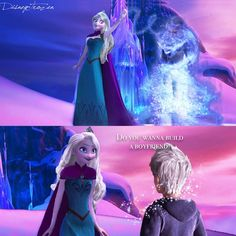 @disneytrozen Instagram photos | Websta  This is PERFECT. And I luv Elsa's hair down. LUV it