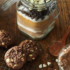 14 Cookie Mix Recipes                     -                                                   These cookie mix recipes make great gifts (just package the cookie mix in a jar), but they also simplify holiday baking season. An easy cookie mix can be the foundation for a variety of favorite cookie recipes!