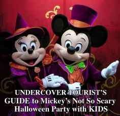 7 Tips for Attending Mickey's Not So Scary Halloween Party: Keep it light (heat wise), pack a poncho for rain, get there early, visit in-demand characters first, and steak out your parade location