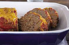 Richey approved!! Super easy meatloaf- I make it all the time.  I like to top with a mixture of ketchup, mustard and brown sugar.  Way better than just ketchup.