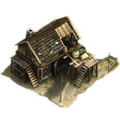 Medieval Hemp Farm House