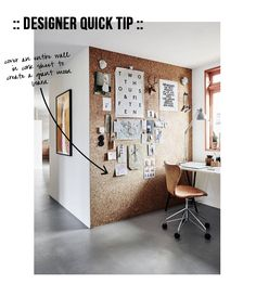 Happy Tuesday my lovelies! I am here in Raleigh werkin with Lowe's on a fun little project, but I found some time to send a real quick designer tip your way. If you want more space to pin up your d...