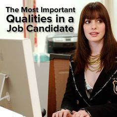 Career infographic : The four most important qualities in a job candidateand how you can make #homeschoolinginfographic