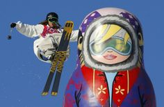 Sweden's Henrik Harlaut performs a jump during the men's freestyle skiing slopestyle qualification round at the 2014 Sochi Winter Olympic Games in Rosa Khutor February 13, 2014. REUTERS/Lucas Jackson