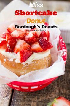 Miss shortcake gordoughs strawberry donuts
