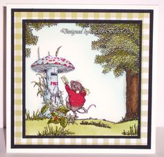 Clear Stamps, Cardmaking, Woodland, Paper Crafts, Scene, Big Project, Frame, Projects, Clever