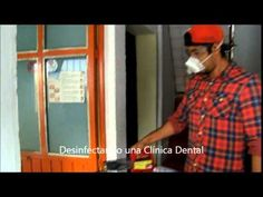 Equipos para desinfectar clínicas