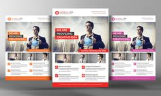 Business Solution Flyer Template by Business Templates on Creative Market