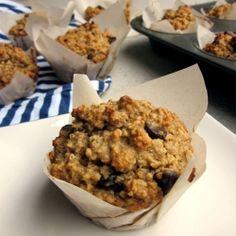 Peanut Butter Quinoa Oat Muffins