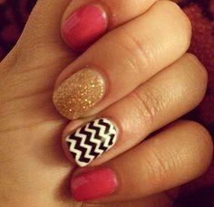 Cute summer vacation nails