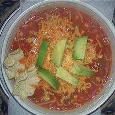 Another good share,  instructions for making Tortilla Soup