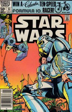 Star Wars Comic Books, Old Comic Books, Star Wars Comics, Marvel Comic Books, Star Wars Toys, Comic Book Covers, Star Wars Art, Marvel Comics, John Carter Of Mars