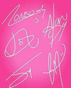 La única forma en la que tengo sus autógrafos