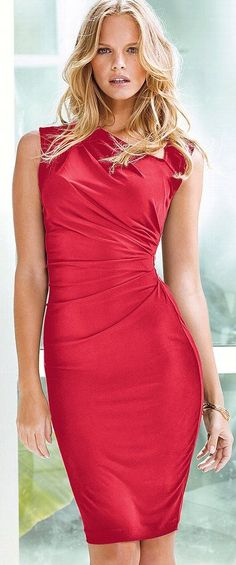cute and figure flattering dress style but add a bit of a sleeve.#Victoria #Secret