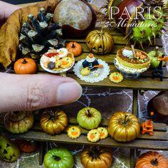 Autumn miniatures by Emmaflam & Miniman of Paris.