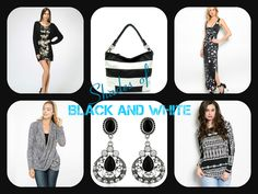Black and White Women's Clothes