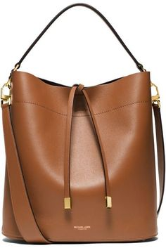 79db4fcdf663 Michael Kors Miranda Large Leather Shoulder Bag Cher Horowitz, Leather  Shoulder Bag, Dress Up