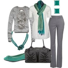 LOLO Moda: Stylish Women Outfits 2013 - Seriously LOVE everything about this for the office!