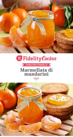 Marmellata di mandarini Sweet Light, My Favorite Food, Favorite Recipes, Sweets Recipes, Cooking Time, Ricotta, Food Photo, Food Inspiration, Italian Recipes