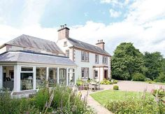 Posy and Pete's mid-Victorian home on the Scottish Borders has been extended to create a relaxed setting for family life