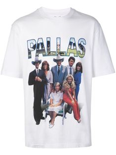Palace pallas print T-shirt - White Size Clothing, Palace, Street Wear, Women Wear, Mens Tops, T Shirt, Fashion Design, Products, Supreme T Shirt