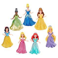 "Exclusive Disney Princess Small Doll Magiclip Princess 7-Pack - Mattel - Toys ""R"" Us"