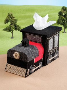 Plastic Canvas Annie's - On-the-Go Tissue Toppers