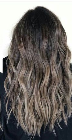 140 ombre hair looks that diversify common brown and blonde ombre hair 112 Brown Hair Balayage, Hair Color Balayage, Hair Highlights, Bayalage, Ash Brown Highlights, Blonde Ombre, Haircolor, Hair Blond, Brunette Hair