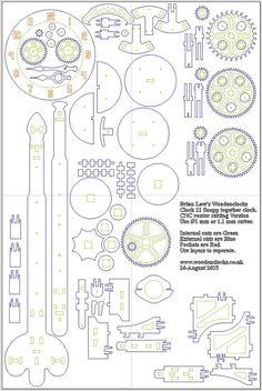 Image result for wooden clock plans