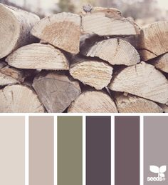 stacked tones - design seeds. Cozy and soothing, like wrapping up in a fav sweater on a chilly fall day