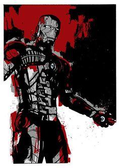 Iron Man by Matthew Dunn