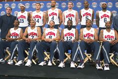 2012 Olympics Team USA Basketball