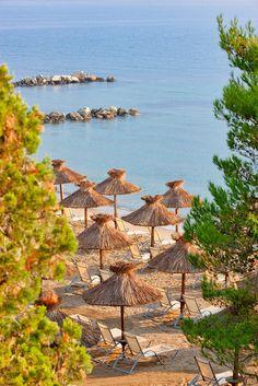 Kontokali Beach, Corfu, Greec