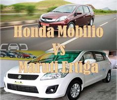 Comparison of 7-seaters: Honda Mobilio Vs Maruti Suzuki Ertiga