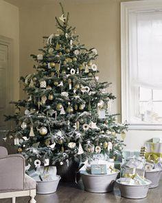 Christmas Tree White