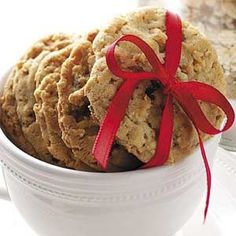 Oatmeal Pecan Cookie Mix Recipe from Taste of Home #ChristmasCookies