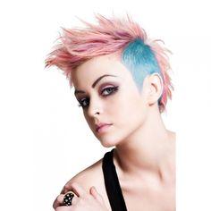 punk goth pastel girl
