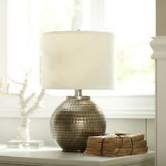 Bainbridge Pewter Accent Lamp